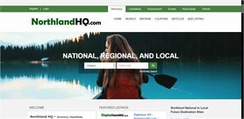 NorthlandHQ.com, Directory, Classifieds, Employment, Events, Rentals, Real Estate, Vehicles